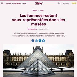 Les femmes restent sous-représentées dans les musées