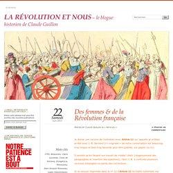 Des femmes & de la Révolution française