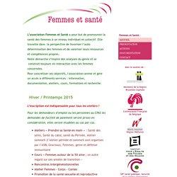 Femmes et Santé asbl - Cours et conférences