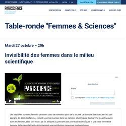 Table-ronde «Femmes & Sciences» - Pariscience
