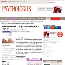 Femmes seules vs hommes célibataires en France