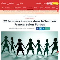 92 femmes à suivre dans la Tech en France, selon Forbes