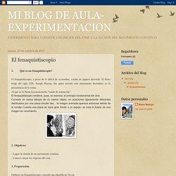 MI BLOG DE AULA- EXPERIMENTACION: El fenaquistiscopio