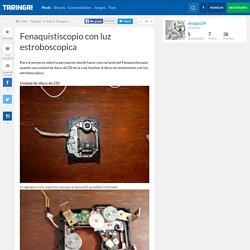Fenaquistiscopio con luz estroboscopica