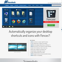 Desktop Fences