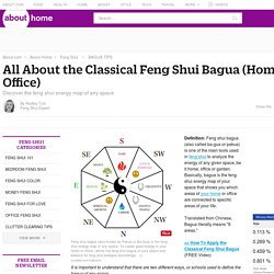 Feng Shui Bagua - About the Feng Shui Bagua, or Energy Map of Your Home