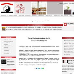 Feng shui construction pearltrees - Tete du lit orientation ...