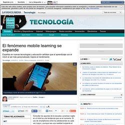 El fenómeno mobile learning se expande