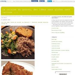 Duo de cake (salé et sucré) au fenouil / version sucrée version salée #1 - la cuisine du gourou, des idées sans gluten sans lactose ...