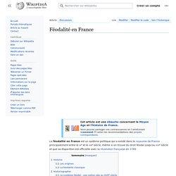 Féodalité en France
