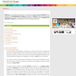 La féodalité, Soutien scolaire, Cours Histoire, Maxicours
