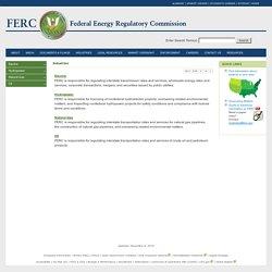 Federal Energy Regulatory Commission (FERC)