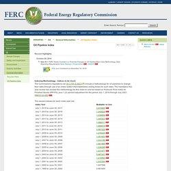 Oil Pipeline Indexing Methodology (FERC)