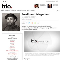 Ferdinand Magellan Biography