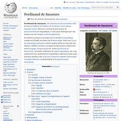 Ferdinand de Saussure - wikipedia