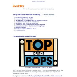 Larry Ferlazzo's Websites of the Day... - 7 new articles