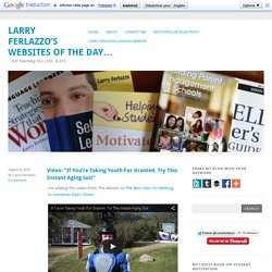 Larry Ferlazzo's Websites of the Day…