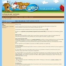 La Ferme du web - Les forums / RevPDF : générateur d'état PDF