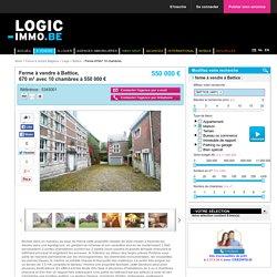Ferme à vendre à Battice - 10 chambres - 670m² - 550 000