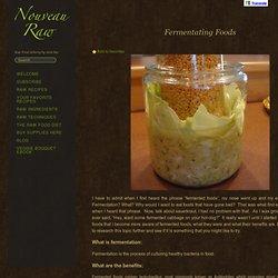 Fermentating Foods