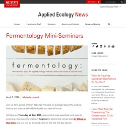 Fermentology Mini-Seminars
