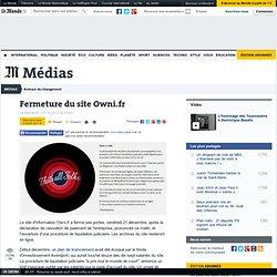 Fermeture du site Owni.fr