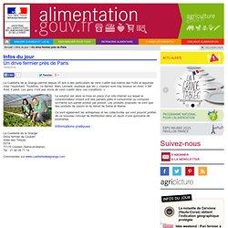 ALIMENTATION_GOUV_FR 14/04/14 Un drive fermier près de Paris.
