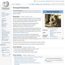 Fernand Chalandre
