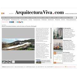 Álvaro Fernandes Andrade, centro de remo en Pocinho (Portugal) - Arquitectura Viva · Revistas de Arquitectura