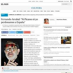 """fernando arrabal: Fernando Arrabal: """"Ni Picasso ni yo perdonamos a España"""""""