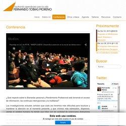 Fernando Tobias Moreno - Conferencia
