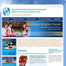 San Fernando Valley Community Mental Health Center, INC | San Fernando Valley Community Mental Health Center,INC