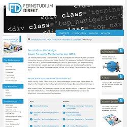 Fernstudium Webdesign (Fernkurs) - Fernuni-Suche & Weiterbildung bei Fernstudium Direkt