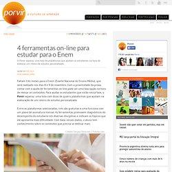 4 ferramentas on-line para estudar para o Enem