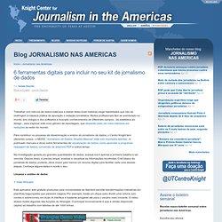 6 ferramentas digitais para incluir no seu kit de jornalismo de dados