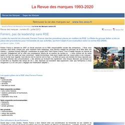Ferrero, pas de leadership sans RSE par Benoit Jullien