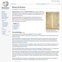 Henry de Ferrers