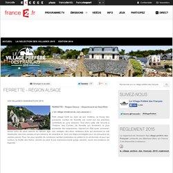 Ferrette - Région Alsace - Les villages candidats en 2015 - Le village préféré des français
