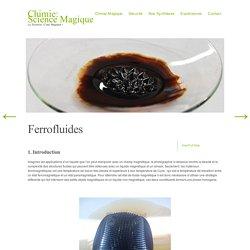 Ferrofluides