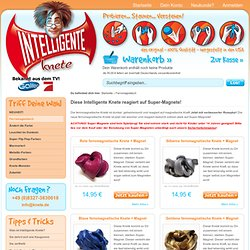 Magnetische Knete - Thinking Putty - Magnetic Putty - Magnetic Thinking Putty - Intelligente Knete