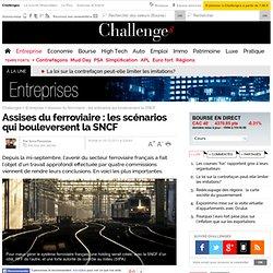 Assises du ferroviaire : les scénarios qui bouleversent la SNCF - 15 décembre 2011