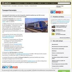 Transport ferroviaire et développement durable