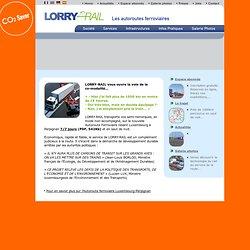 Lorry Rail - L'autoroute Ferroviaire Perpignan - Luxembourg - Homepage