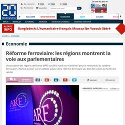 Réforme ferroviaire: les régions montrent la voie aux parlementaires