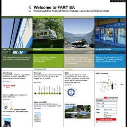 .:Ferrovie Autolinee Regionali Ticinesi (FART) - Svizzera:.