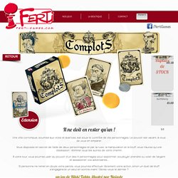 Ferti Games - Complots