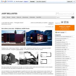 dos cubos y una casa – fertighaus, mobile house
