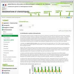 MEEDDAT - JUIN 2006 - Agriculture et environnement - La fertilisation azotée et phosphorée
