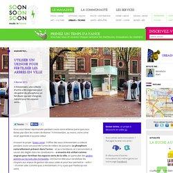 Utiliser un urinoir public pour fertiliser les espaces verts