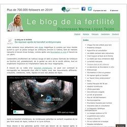 Le blog de la fertilité » Se reposer après le transfert embryonnaire